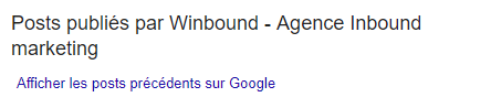 post fiche Google My Business