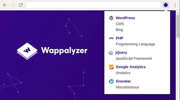 wappalyzer-extension